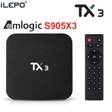 TX3 Amlogic S905X3 Android 9.0 TV BOX 4GB 64GB 32GB wifi 4K