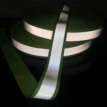 Светоотражающая лента тканевая Предупреждение та со светоотражающей