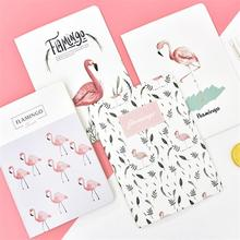 TOPSTHINK Notebook B5 large cartoon school supplier blossom flamingo Journal 30 pages тетради sketchbook girs boys