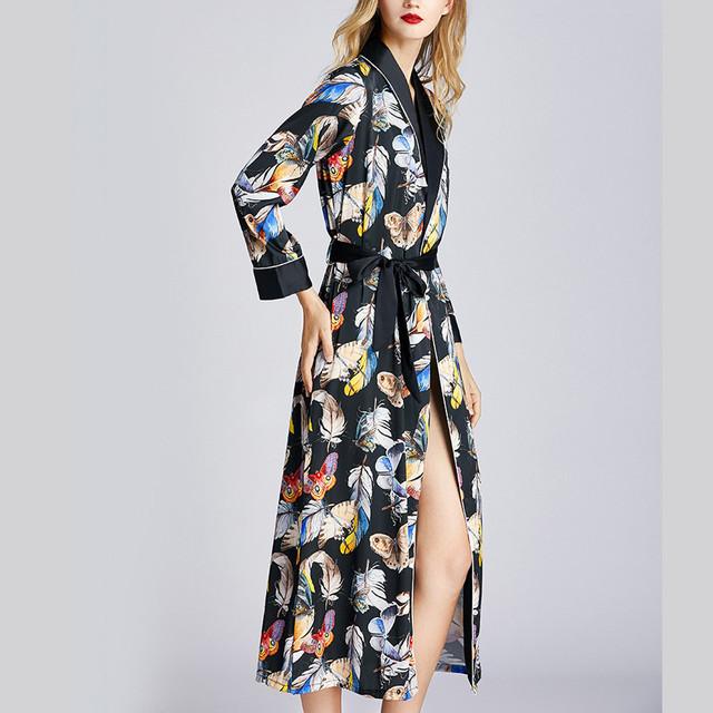 DUOBLA Women's Silky Nightgown