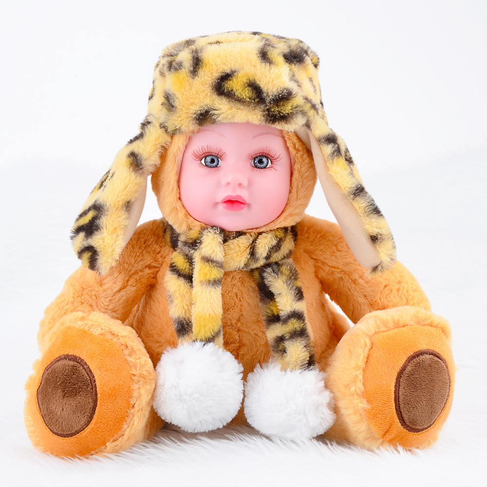35CM Stuffed Doll Plush Toys Animals For Kids Children Holiday Gift Cartoon Bear Soft Accompany Sleeping Toy