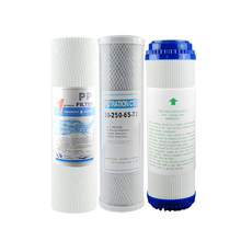 10 дюймовые фильтрующие элементы система фильтрации очистка запасная часть универсальная для очистителя воды домашний прибор