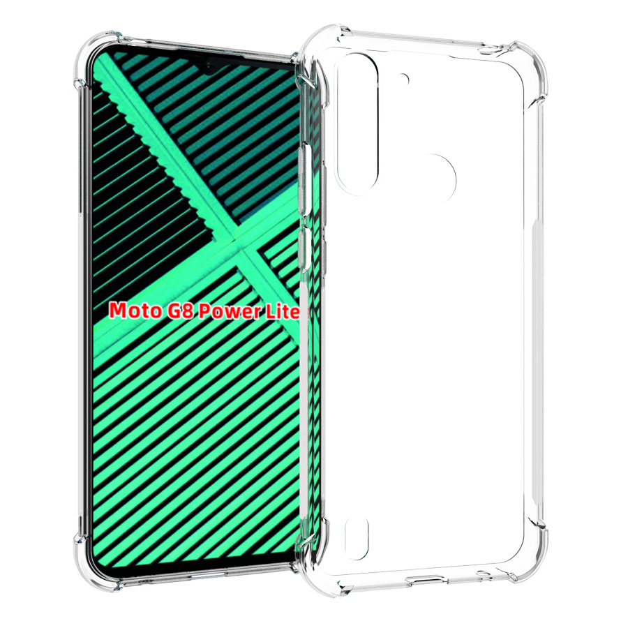 Crystal Clear Shockproof Soft Case For Moto G8 Power Lite,G8 Play Plus G7 POWER Play G Stylus Fast E7 Edge+ One Fusion Plus