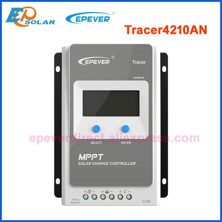 Tracer 1210AN 2210AN 3210AN 4210AN 10A 20A 30A 40A MPPT Контроллер заряда для фотоэлектрических систем 1210A 2210A 3210A 4210A ЖК-дисплей EPEVER регулятором солнечного заряда r - Цвет: Only 4210AN