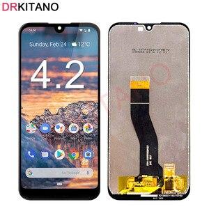 Image 1 - Dla Nokia 4.2 3.2 2.2 wyświetlacz LCD ekran dotykowy Digitizer zgromadzenie TA 1154 TA 1156 TA 1159 TA 1164 dla Nokia 2.2 ekran LCD