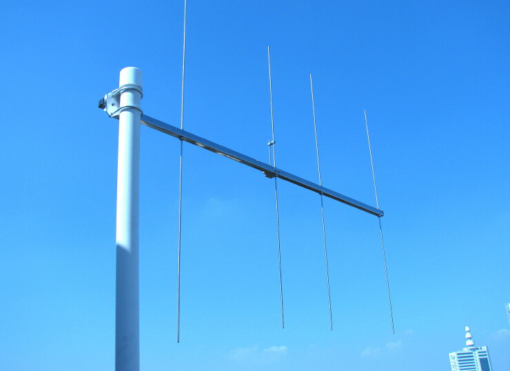 4elements VHF144M Yagi Antenna 8dBi VHF 145M Repeater Staton Yagi Antenna SO239 146M Stainles Steel Yagi Antenna