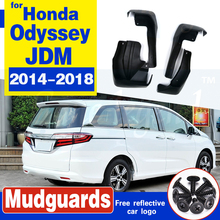 Set Molded Mud Flaps For Honda Odyssey JDM 2014 2015 2016 2017 2018 Mudflaps Splash Guards Front Rear Mud Flap Mudguards Fender set molded mud flaps for honda fit jazz 2014 2017 mudflaps splash guards front rear mud flap mudguards fender 2015 2016