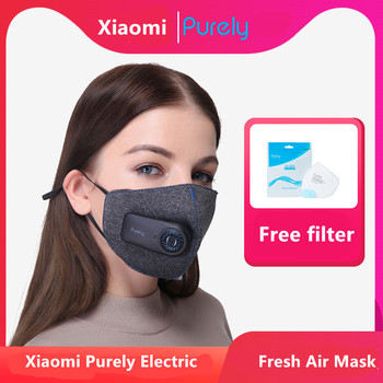 XIAOMI Purely Mascarilla Reutilizable FFP2 Eléctrica