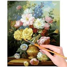 40x50 см Набор для цифровой живописи diy картина маслом без