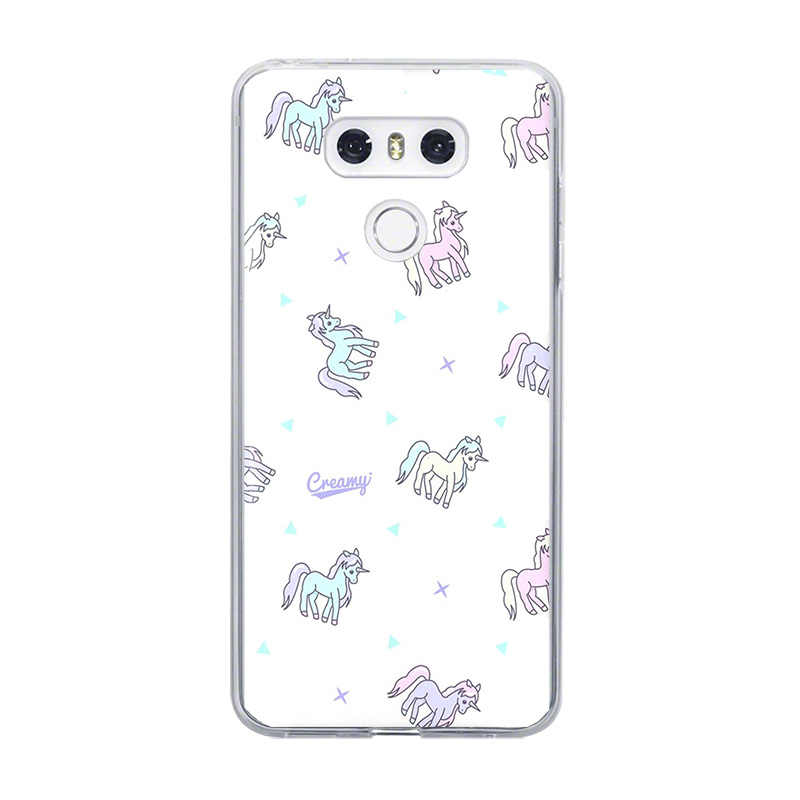 Ciciber جراب هاتف فوندا ل LG G6 G7 G5 G4 V30 V35 V40 V20 THINQ TPU ل LG K10 K8 K7 k4 2017 2018 K9 K11 زائد الحيوان يونيكورن