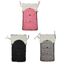 Baby Sleeping Bag Infant Winter Stroller Thick Warm Envelope Sleepsacks Footmuff Y51E