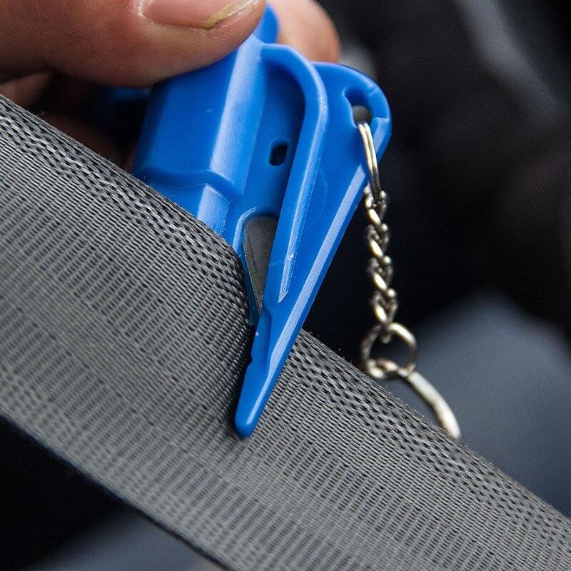 1 pçs mini martelo de segurança do carro protetor de vida escapar martelo janela chaveiro janela do carro quebrado cortador de vidro de emergência