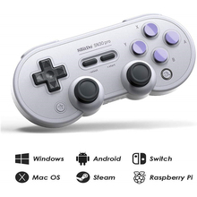 цена на 8Bitdo Bluetooth Gamepad SN30 Pro SF30 Pro for Nintend Switch Controller Mac OS Android Joystick Wireless Gamepad Game Android