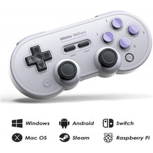 8Bitdo Bluetooth Gamepad SN30 Pro SF30 Pro para Nintend controlador de interruptor Mac OS Android Joystick inalámbrico Gamepad juego Android(China)