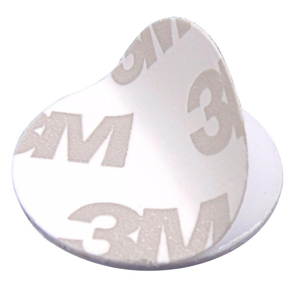 Image 3 - (100PCS/LOT) New Dellon Stickers Smart FM1108(M1 S50) RFID 13.56Mhz 3M Tags NFC PVC Coin CardsAccess Control Cards   -