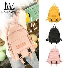 Женские рюкзаки louiswill женские сумки школьная сумка холщовые
