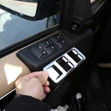 Autocollants de couverture de voiture, accessoires de voiture, argent/noir ABS pour Land Rover Range Rover Sport L320 2005 – 2008