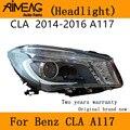 Сделано для 14 -19 новых benz CLA фар в сборе светодиодный 200 220 260 W117 фар