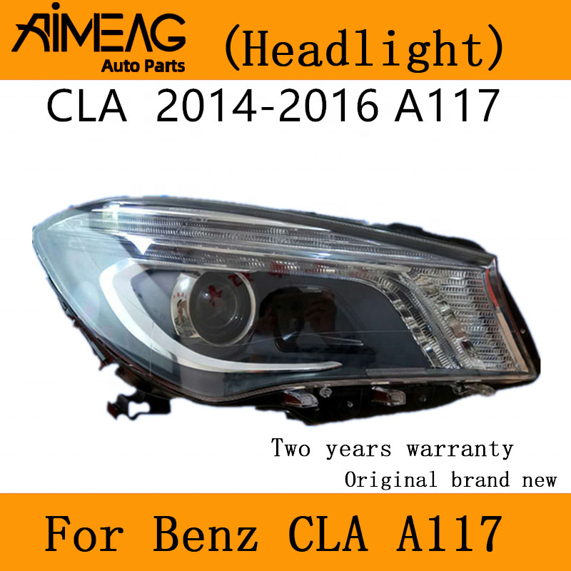 Made for <font><b>14</b></font> -19 New benz CLA headlight Assembly <font><b>LED</b></font> 200 <font><b>220</b></font> 260 W117 headlight image