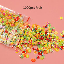 1000PCS/Pack New Mixed Animal Fruit Flower Nail Art Resin Cake Heart UV Resin Epoxy Mold