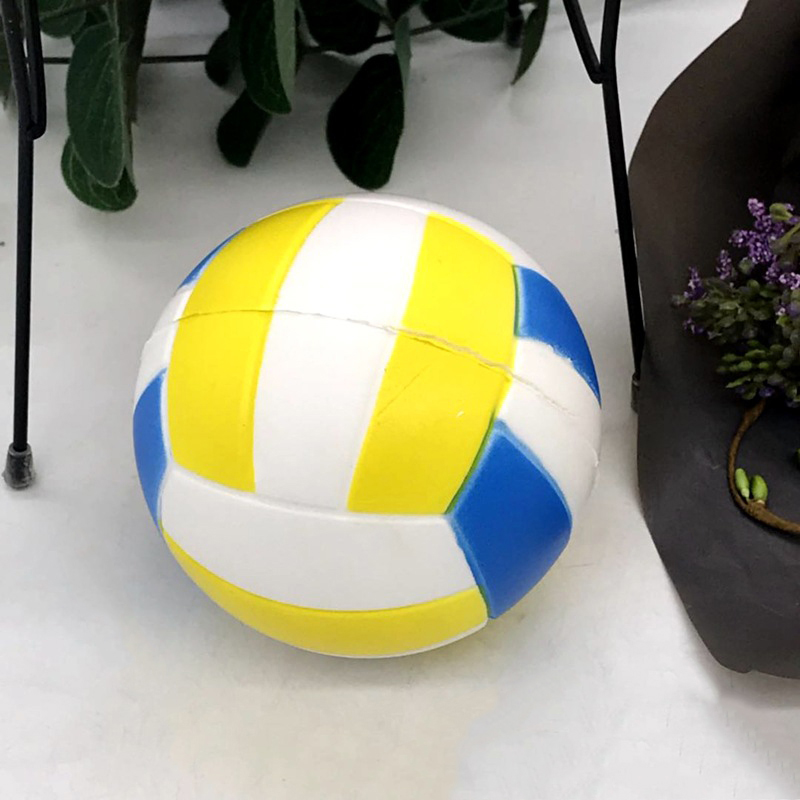 Volleyball Squishy Slow Rising Toys Stress Reliever Gift Squeeze Healing Toys Vent Ball Anti Stress Balls Fun Kids Adult Toy