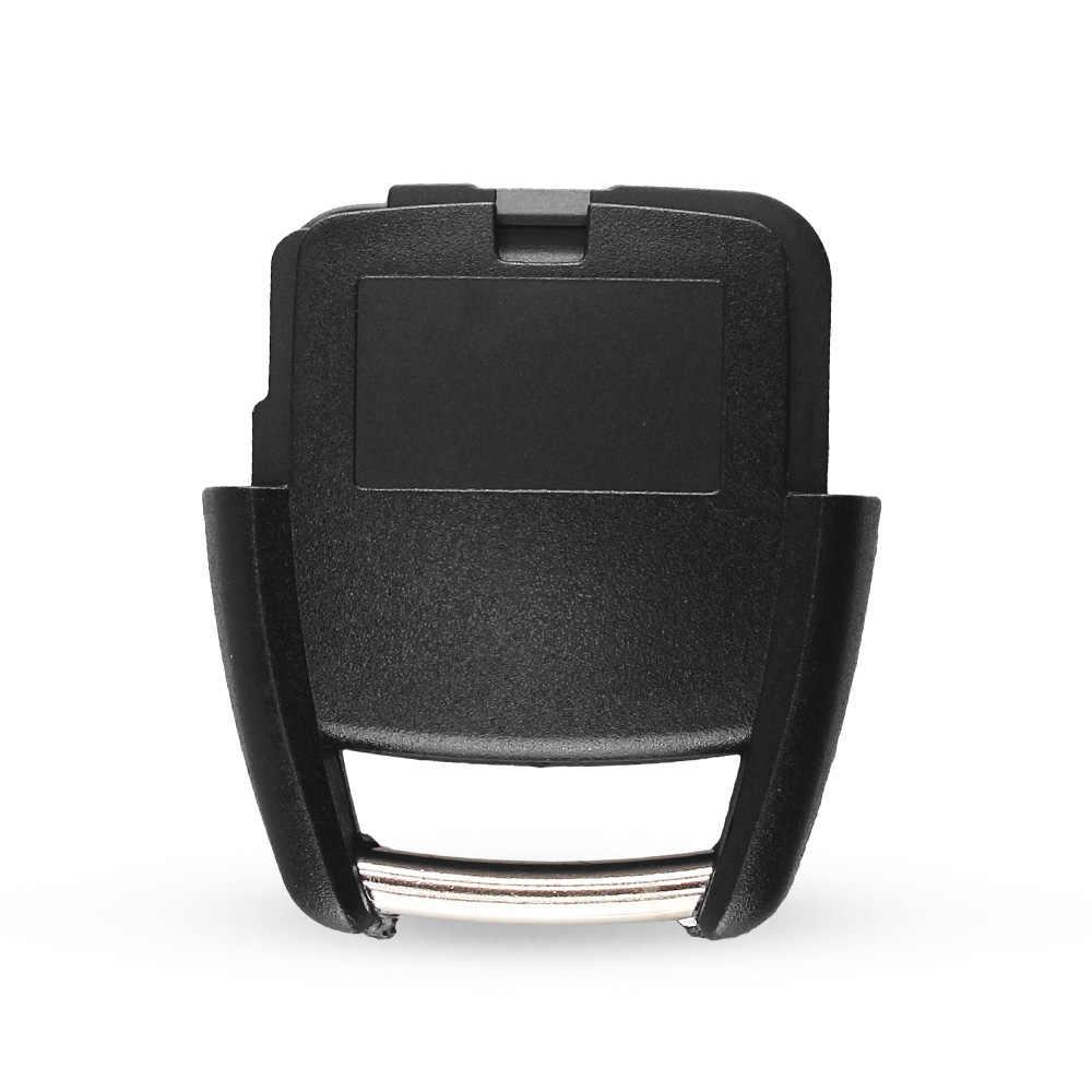 Dandkey 3 Tombol Mobil Remote Kunci Shell Case untuk Opel Vauxhall Vectra Astra Omega Signum Pengganti Fob