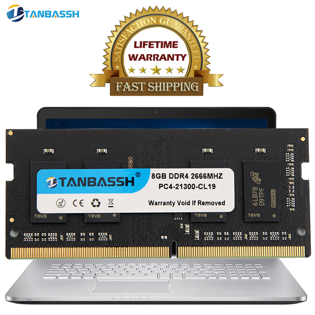 Laptop memory notebook RAM DDR4 4GB 8GB 16GB 2133MHZ 2400MHZ 2666MHZ 1.2V high performance so dimm DDR4 Lifetime warranty