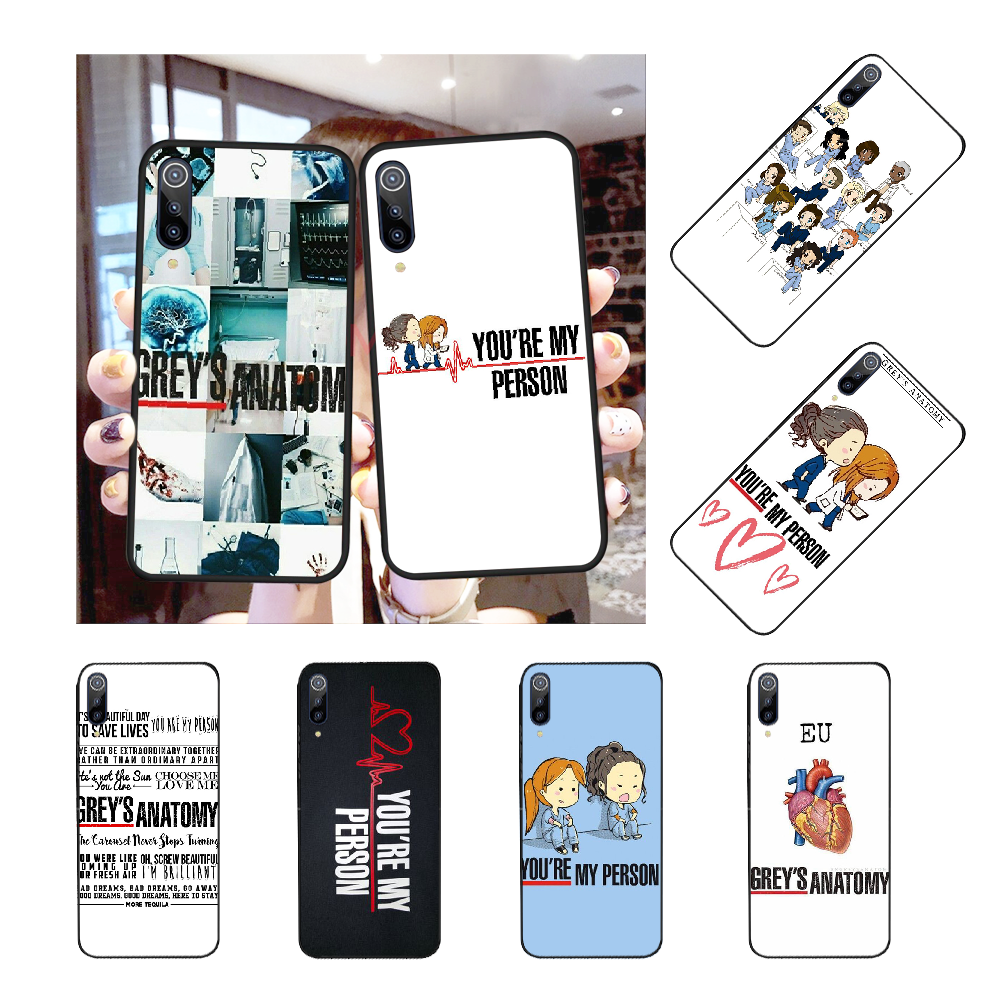 NBDRUICAI You're My Person Greys Anatomy Customer Phone Case for Redmi Note 8 8A 7 6 6A 5 5A 4 4X 4A Go Pro Plus Prime