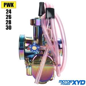 Universal 21 24 26 28 30 32 34mm PWK Motorcycle Carburetor Carburador For ktm CRF YZF KLX KXF Dirt Bike MX Motocross Off Road Mo