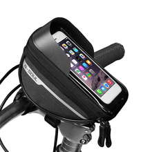 Bike-Bags Frame Phone-Holder Cycling-Accessories Front-Top Waterproof MTB Touch-Screen