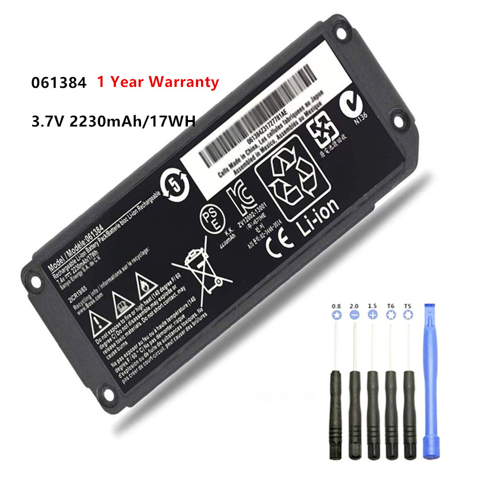 7.4V 17WH 061384 061385 061386 063404 063287 Battery For BOSE SoundLink Mini I Bluetooth Speaker Battery