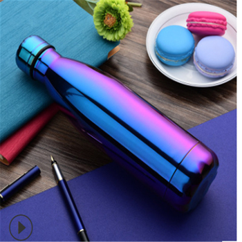 500ML Stainless Steel Cute Printed Water Bottle Vacuum Insulated Flask Thermal Sport Chilly Cup Sports 3