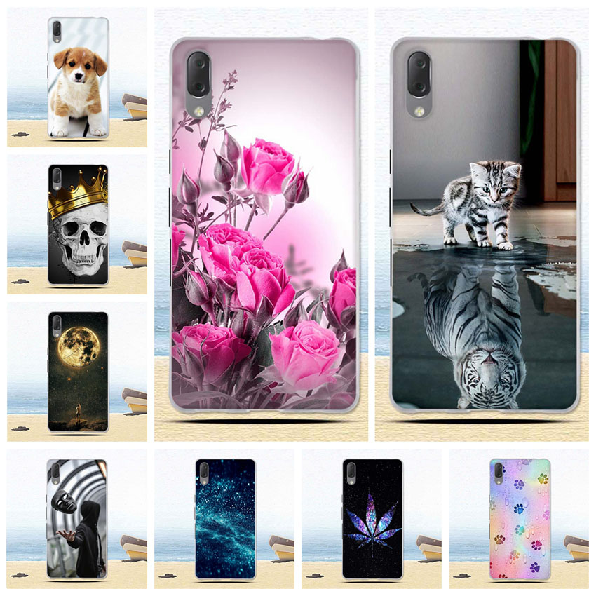 Soft TPU Phone <font><b>Cases</b></font> for <font><b>Sony</b></font> <font><b>Xperia</b></font> <font><b>L3</b></font> I3312 I4312 I4332 I3322 <font><b>Case</b></font> Silicone Cover Ultra Thin Slim Pattern Phone Shockproof image