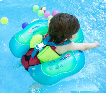 Baby Swimming Ring Inflatable Chest Pad Floating Swim Kids Pool Accessories Strap