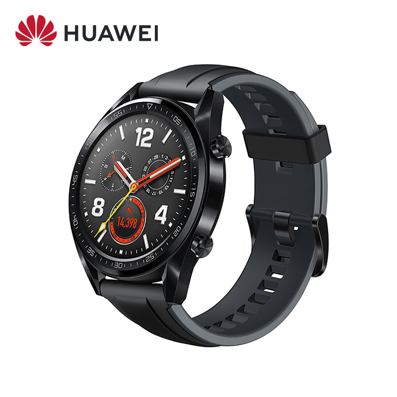 Original Huawei Watch GT Smart Watch GPS 14 Days Battery Life 5 ATM Waterproof Phone Call Heart Rate For Huawei P30|Smart Watches| |  - AliExpress