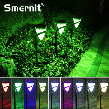 Smernit Solar Garden Light Outdoor LED Lamp Lawn Lights Waterproof Lights Christmas Decoration Wall Yart Path Lighting