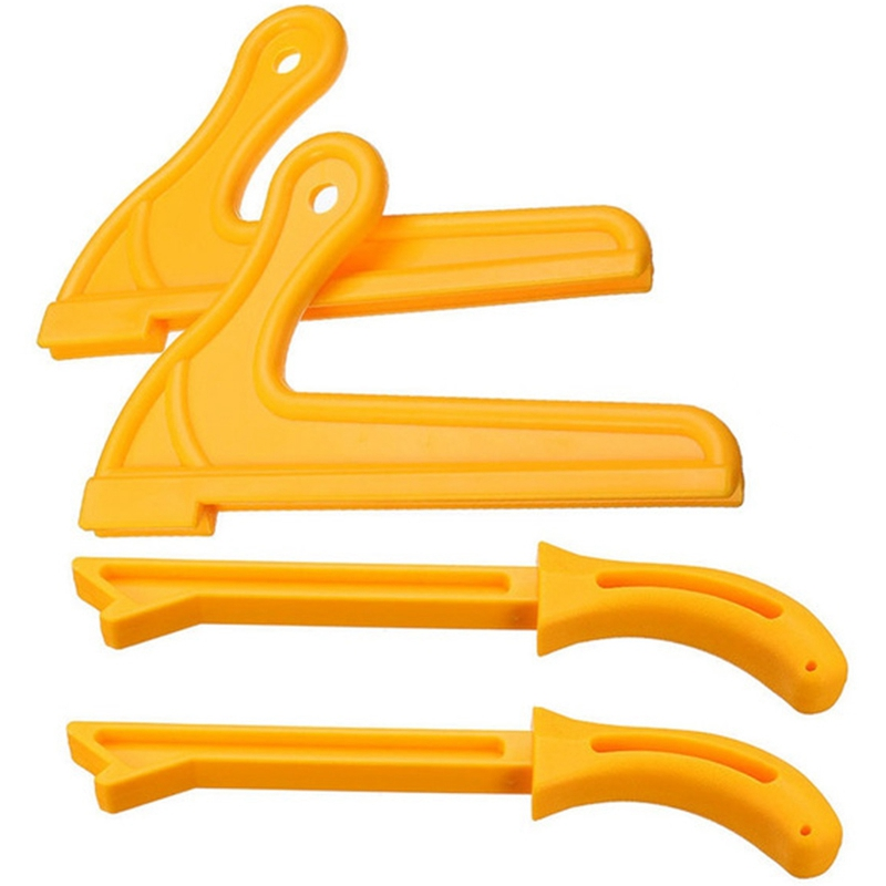 4pcs T1 T2 Hand Protection Sawdust Wood Saw Push Stick Set For Carpentry Table Woodworking HT2381 Crowbars     - title=