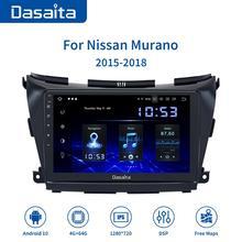 Dasaita 10 2 #8222 ekran IPS samochód Android 10 0 Radio dla Nissan Murano Z52 GPS 2015 2016 2017 nawigacja 1280*720 MAX10 64GB ROM tanie tanio CN (pochodzenie) Jeden Din 10 2 4*50W System operacyjny Android 10 0 Dasaita car player for nissan 3 5kg Bluetooth Funkcja wi-fi