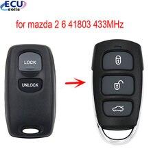 Бесключевой вход FOB пульт дистанционного управления для MAZDA 2 6 2002 2003 2004 2005 новый дизайн 41803 433 МГц