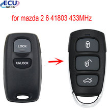 Keyless entrada fob remota para mazda 2 6 2002 2003 2004 2005 novo design 41803 433mhz