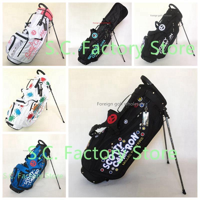 TlTLElST Cameron Standard Ball Cart Scotty Golf Bag Cart Women Titles Men Womens Man Caddy Golf Cart Tripod Bag Stuff Golf Set