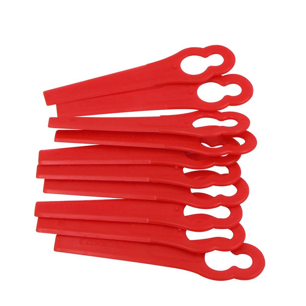 50pcs Plastic Blades For KULLER BOSCH OZITO Grass Trimmer 3