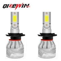 Faro LED de 360 grados para coche, lámpara luminosa de cuatro lados F1 de alta potencia, haz Alto y Bajo