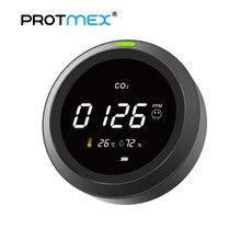 Protmex CO2 Detector Monitor de calidad del aire Pantalla de temperatura y humedad PTH-5