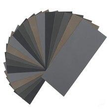 20 шт наждачная бумага для дерева и металла 1000/2000/3000/5000/7000