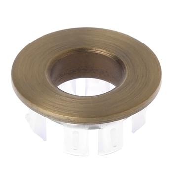 Umywalka łazienkowa kran zlew pokrywa przelewowa mosiężna sześciostopniowa wkładka pierścieniowa wymiana L69A tanie i dobre opinie L69A7HH1100594-D Ze stopu miedzi