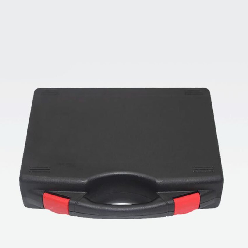 Portable Tool Case Plastic Empty Carrying Hard Case Box 195x170x46mm Protective Hard Case For Hardware Tools, Black