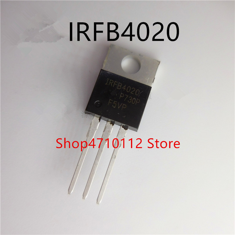 Free Shipping NEW 10PCS/LOT    IRFB4020 IRFB4020PBF TO-220-3