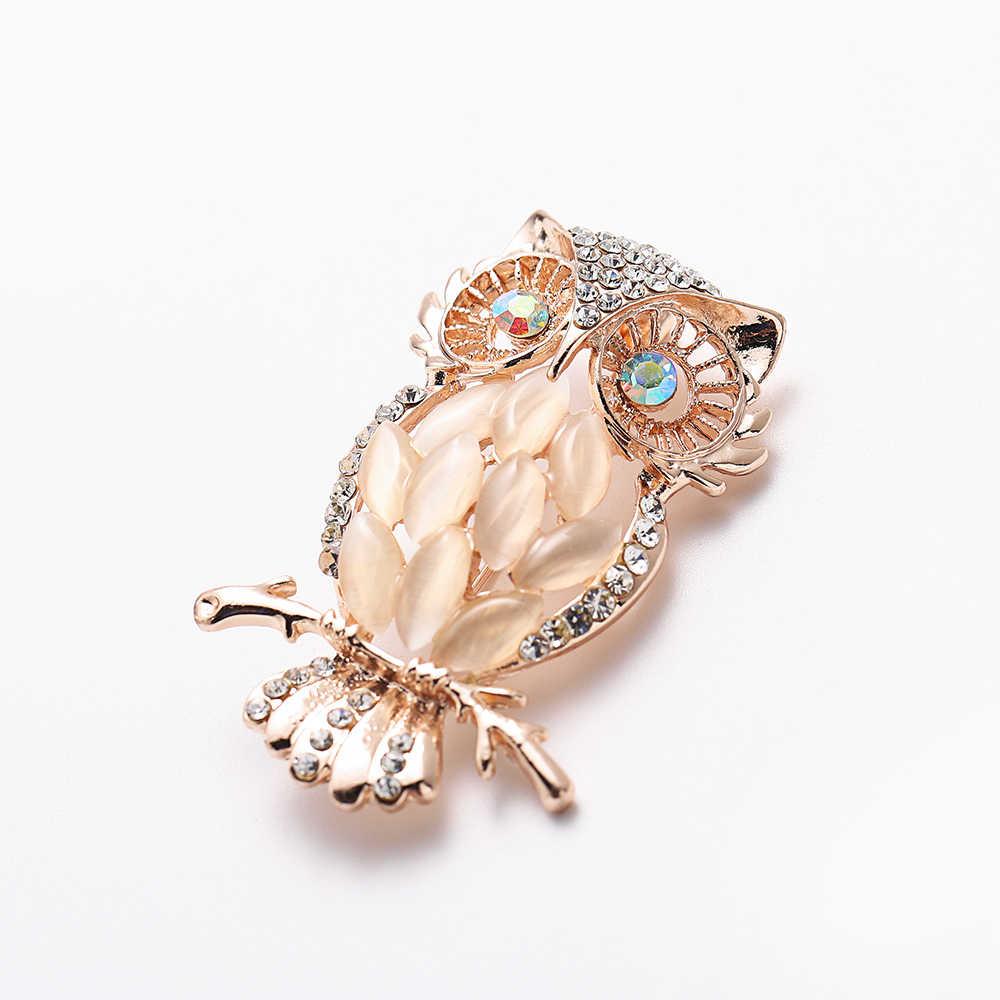 Hayvan broş Pins kadınlar için Bling Rhinestone arı örümcek broş Dragonfly broş Pin takı düğün parti Bijoux en iyi hediye