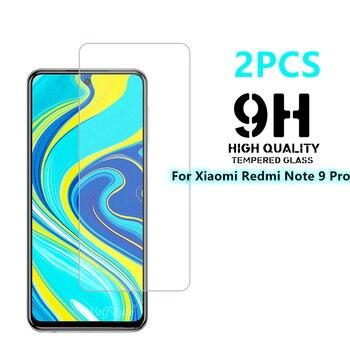 2PCS Per Xiaomi Redmi Nota 9 Pro di Vetro Per La Nota Redmi 9 Pro Temperato 9H Schermo In Vetro Duro protector Per Xiaomi Redmi Nota 9 Pro